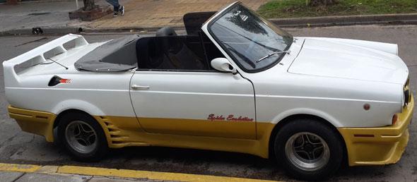 Auto Fiat 800 Spider