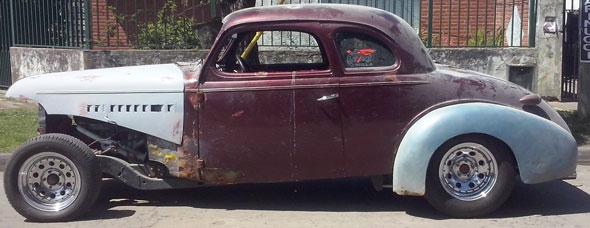 Auto Chevrolet 1939 Coupé