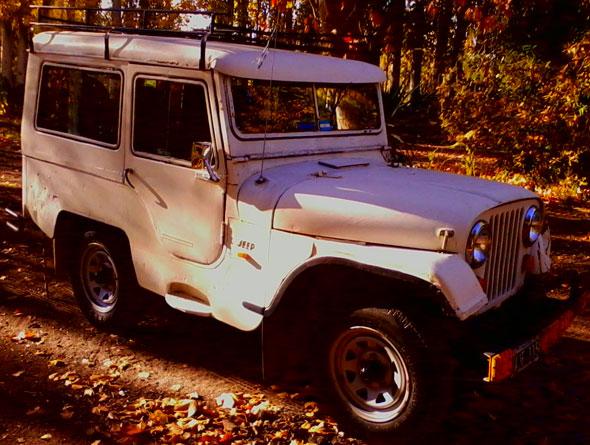 Auto Jeep 1958