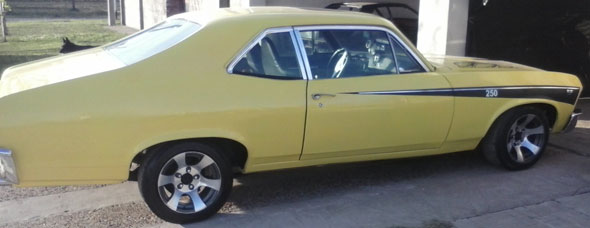 Chevrolet Coupé Chevy