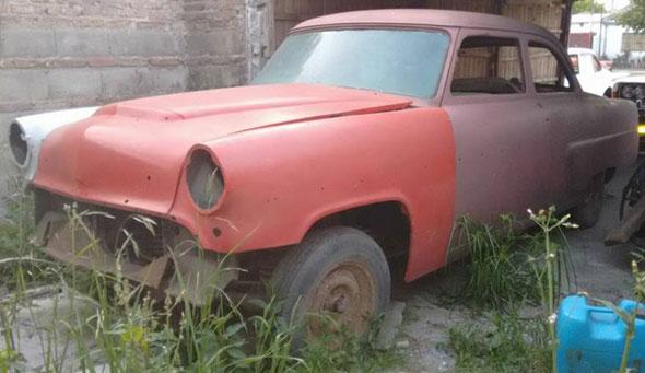 Car Mercury Monterrey