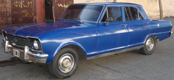 Car Chevrolet 400 1972