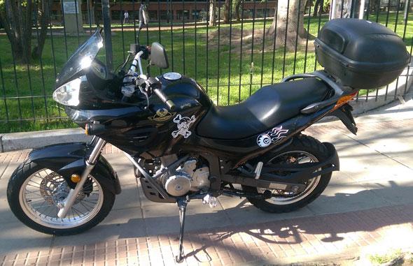 Motorcycle Jawa RVM600