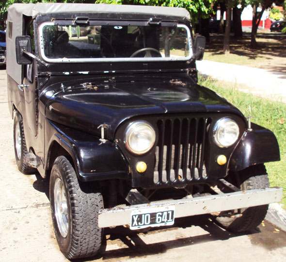 Car Jeep IKA 1965