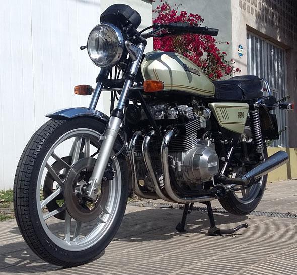Motorcycle Benelli 354