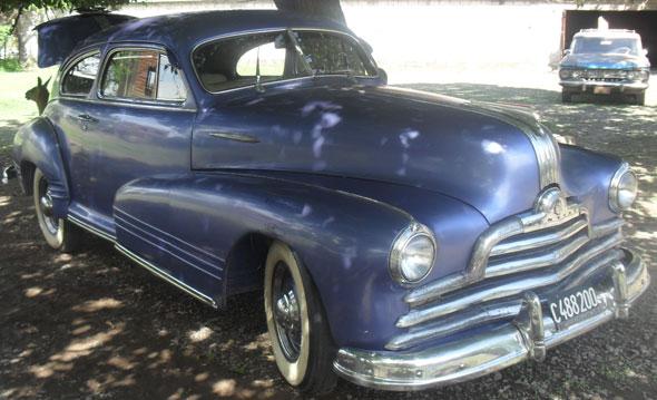 Car Pontiac 1947 Coup�