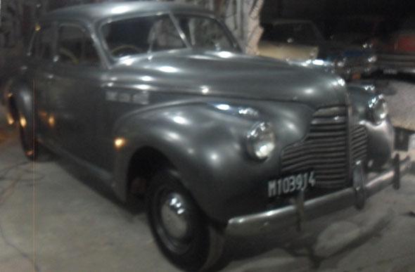 Auto Buick Super Sed�m 1940