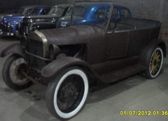 Car Ford T Doble Phaeton 1926