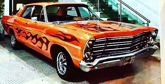 Auto Ford Galaxie 500