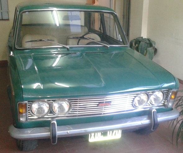 Car Fiat 1600 1973