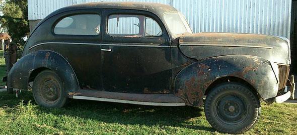 Car Ford 1940 V8 2 Sedán Dos Puertas
