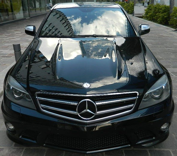 Car Mercedes Benz C63 AMG