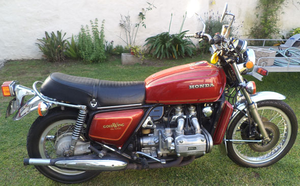 Motorcycle Honda Goldwing GL 1000