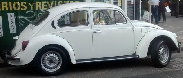 Car Volkswagen Escacrabajo
