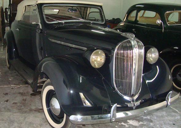 Car Plymouth Cabriolet 1938