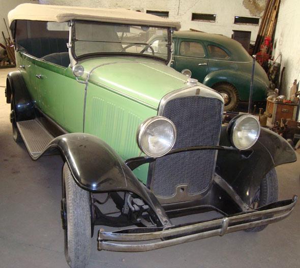 Car De Soto Phaeton 1930