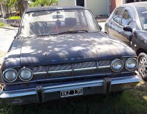 Car Rambler Classic 1966