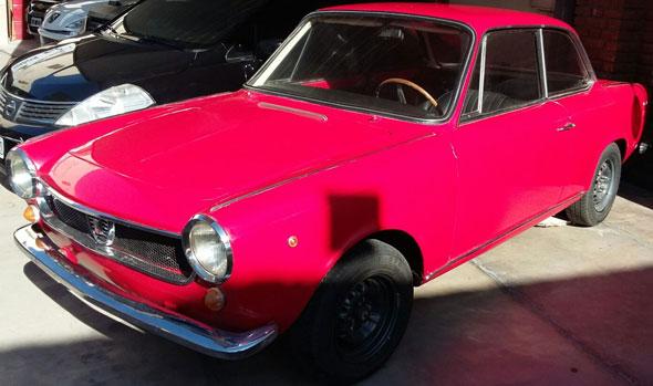 Car Fiat Coupé 1500