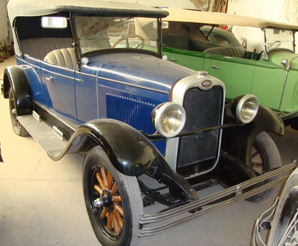 Car Chevrolet 1928 Phaeton