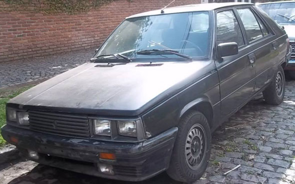 Auto Renault 11 Turbo 1990