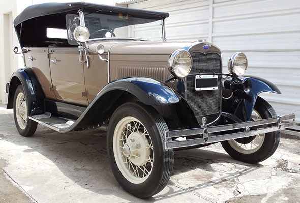 Auto Ford A Doble Phaeton