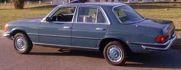 Car Mercedes Benz 280SE