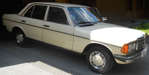Car Mercedes Benz 230E 1981
