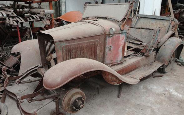 Auto Whippet 1929