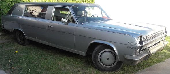 Auto Rambler Ambassador 380 1970