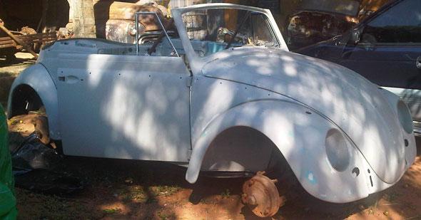 Auto Volkswagen Escarabajo 1964