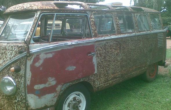 Car Volkswagen Combi Samba