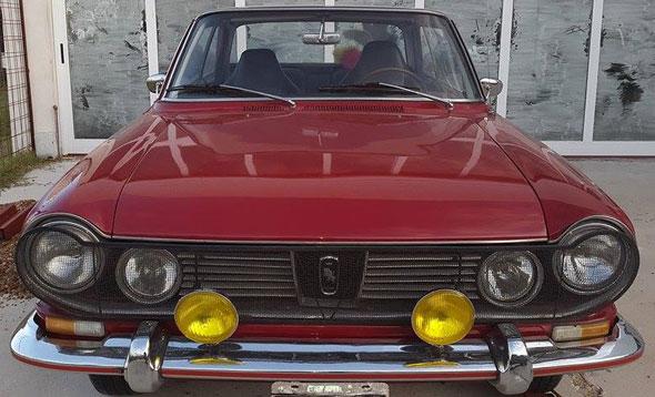 Car Renault IKA Torino Coupé TS