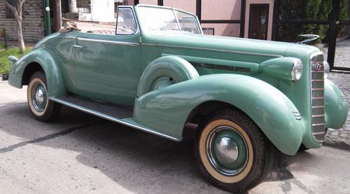 Car Cadillac La Salle 1936 Cabriolet