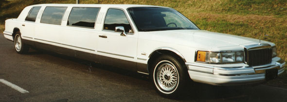 Auto Limusina Town Car 1990
