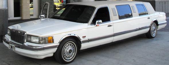 Car Limusina Town Car 1990