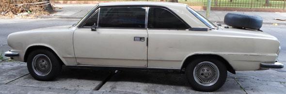 Car Torino Coupé ZX 1981