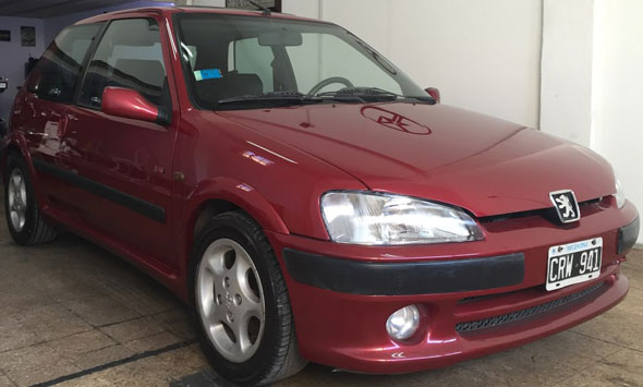 Car Peugeot 106 S16