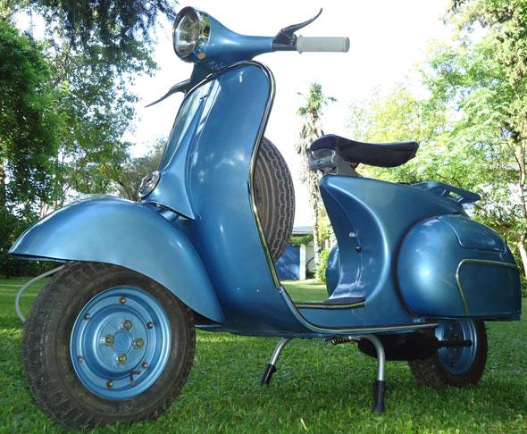 Moto Vespa VBB1 1961