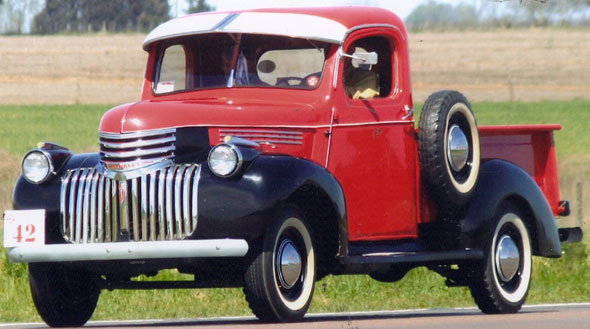 Auto Chevrolet Pick Up 1946