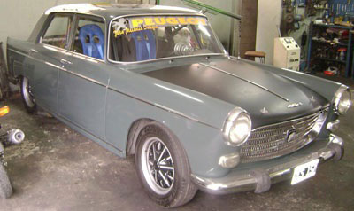 Car Peugeot 404 1967