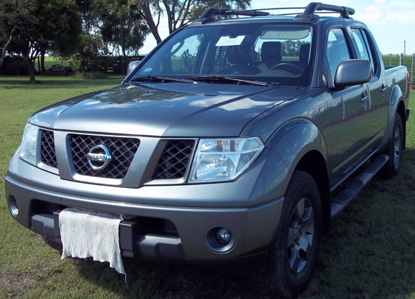 Car Nissan New Fontier Attack 4x4
