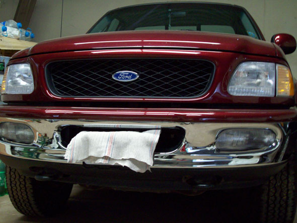 Car Ford F150 Flareside Lariat 4x4 V8