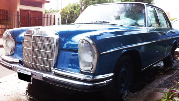 Car Mercedes Benz 250 SE