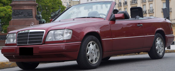 Car Mercedes Benz Clase E (1993-95)