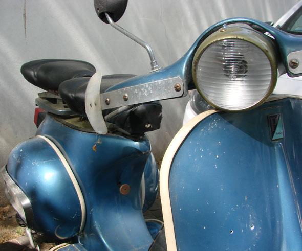 Motorcycle Vespa Piaggio 1958