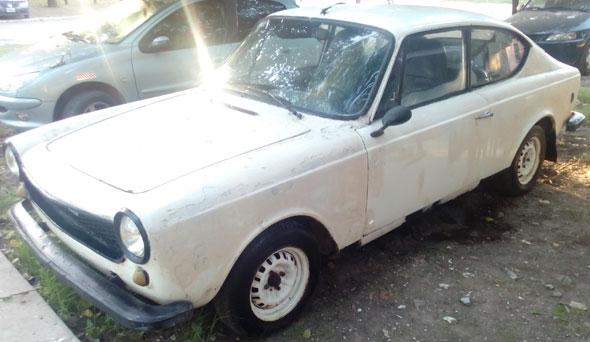 Car Fiat 125 Coupé Sport