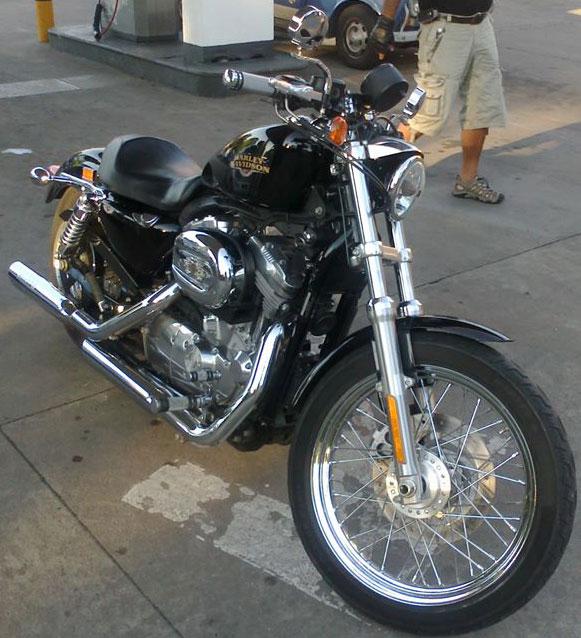 Auto Harley Davidson Sportster