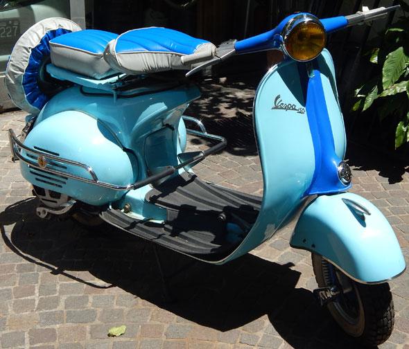 Motorcycle Vespa 1957