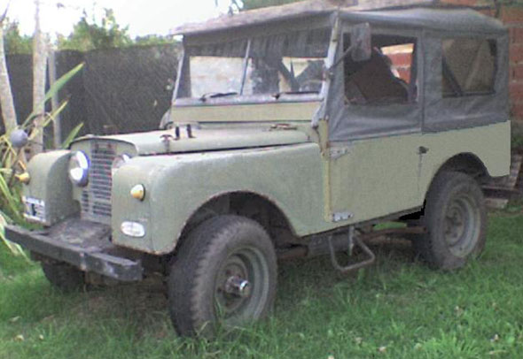 Car Land Rover Serie 1 1951 4x4