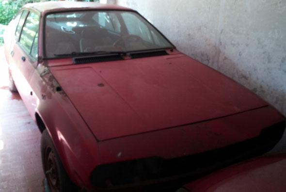 Car Alfa Romeo 1981
